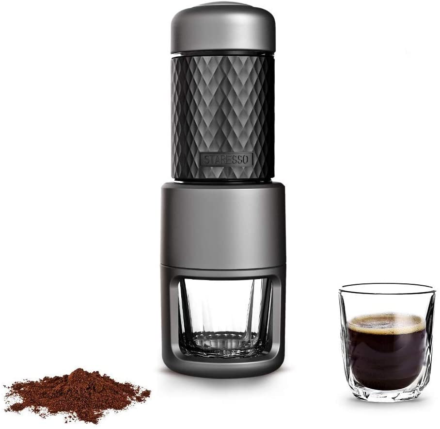 Portable Coffee Maker by STARESSO 4-in-1