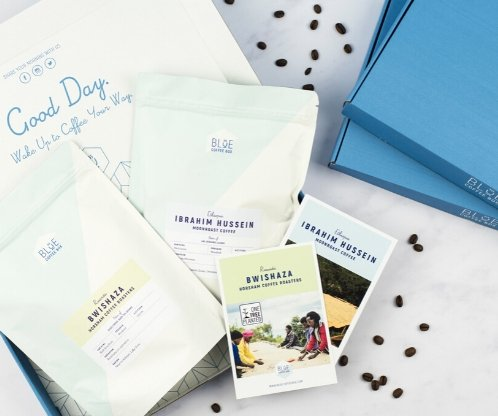 blue coffee box subscription