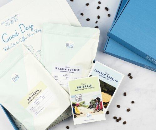 blue coffee box subscription